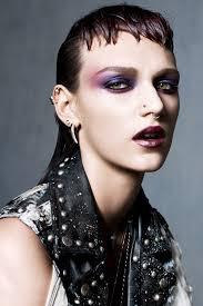 tough love super edgy makeup vogue