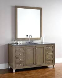 60 inch bathroom vanity martin single transitional white washed walnut sink menards