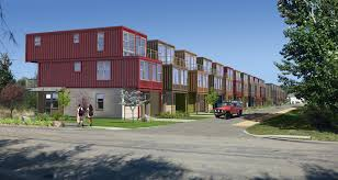 Cargo Home Developer Uses Cargo Shipping Containers For Houses Ktvbcom