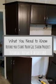 Finishing Kitchen Cabinets 25 Best Ideas About Stain Kitchen Cabinets On Pinterest