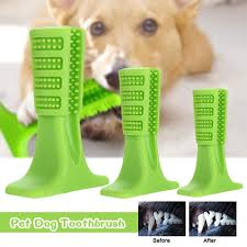 dels of pet dog toothbrush brushing stick teeth cleaning chew toy brush care s m l