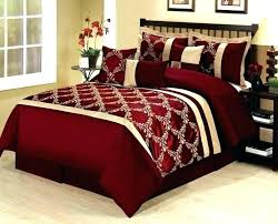 red queen bed sheets black and comforter brilliant oriental cherry blossom satin burdy com