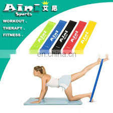 <b>208cm Natural Latex Pull</b> Up Resistance Bands Fitness CrossFit ...