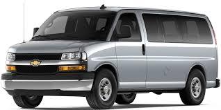 2018 Express Passenger Van: 15 Passenger Van   Chevrolet