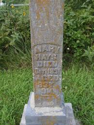 "Mary ""Polly"" Payne Hayes (1808-1891) - Find A Grave Memorial"