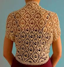 Crochet Shrug Pattern Classy Crochet Shrug PATTERN Crochet Wedding Shrug Evening Shrug Pattern