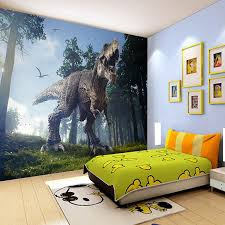 Custom Photo Wall Paper 3D Dinosaurs Wall Painting Mural Wallpapers Bedroom  KTV Bar Backdrop Wall Murals Wallpaper Home Decor-in Wallpapers from Home  ...