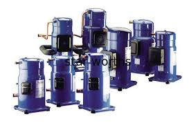 compresor refrigeracion. compresor de la refrigeración voluta del ejecutante r407c danfoss, serie sz aire acondicionado refrigeracion