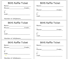 Template For Raffle Tickets To Print Free Raffle Ticket Template Free Elegant Templates Make Your Own Tickets