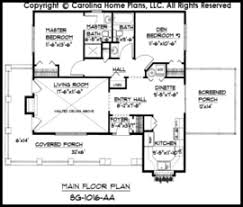 small cottage floor plans. Exellent Small SG1016 Main Floor Plan In Small Cottage Plans O