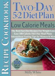 Food Calorie Book Two Day 5 2 Diet Plan Low Calorie Meals Recipe Cookbook The Best