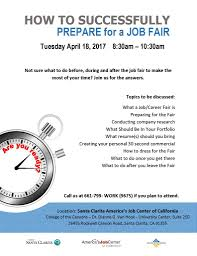 upcoming events how to successfully prepare for a job fair how to be succcessfull at a job fair 4 18 17