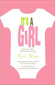 baby shower invitation blank templates its a girl baby shower invitations like this item girl baby shower