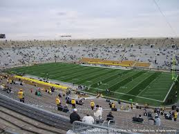 Notre Dame Stadium Seating Chart Garth Brooks Notre Dame Stadium View From Upper Level 124 Vivid Seats