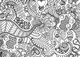 Small Picture Zentangle Coloring Page Free Download