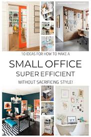 organizing a small office. 10 Ideas For How To Make Your Small Office Super Efficient | Stylish Office, And Joyful Organizing A D