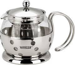 "<b>Чайник заварочный Vitesse</b> ""Classic"", с ситечком, 700 мл. VS-8319"