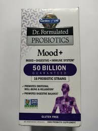 dr formulated probiotic mood 50 billion garden of life 60 caps