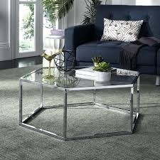glass and chrome coffee table round uk