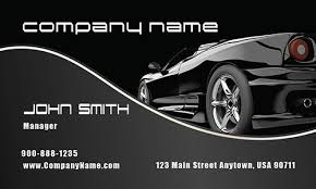 Exciting Car Dealer Business Cards 30 For Your Creative Business ...