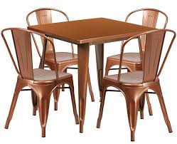 image of outdoor copper chair and table furniture set furniture chair set54 furniture