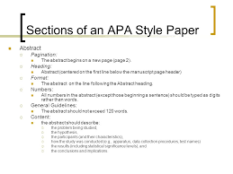 papers in apa style writing an apa style research paper ppt video online download