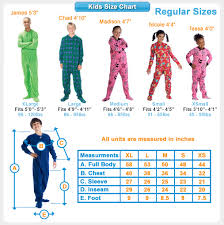 size 4 kds off in space kids footed pajamas kids pajamas one piece