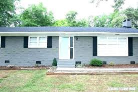 Painting Exterior Brick Cost To Paint Colors For Homes Popular