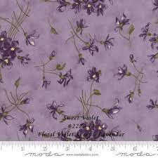 Sweet Violets <b>Floral Violet</b> Spray Lavender 2220-14 - Bayside ...