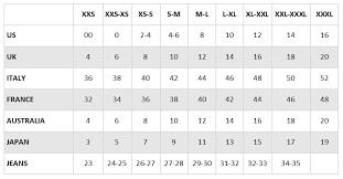 Dolce And Gabbana Jacket Size Chart Size Conversion Charts