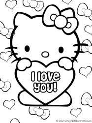 Also try other coloring pages from cartoons category. 70 Hello Kitty Coloring Pages Ideas Hello Kitty Coloring Hello Kitty Colouring Pages Kitty Coloring