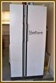 My Nothing To Lose Refrigerator Makeover My Heart Lives Here