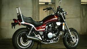 this 1984 honda magna v65 offers old