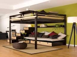 double bed loft bed loft bed google search more double bed loft bed with desk
