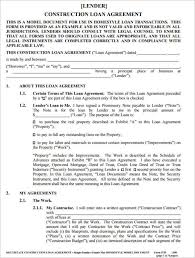 21+ Loan Agreement Template Free Word, Excel, Pdf Formats
