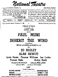 inherit  inherit the wind makes a broadway entrance 1955