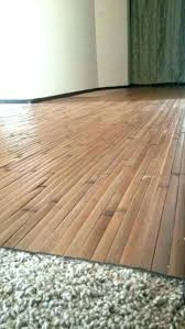 laminate flooring over carpet do you
