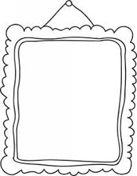 printable picture frames templates your own frame throughout template free