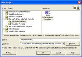 Sample Infopath Forms Introducing Infopath Form Template Projects Part Iv Programming