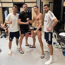 "Cristiano Ronaldo on Twitter: ""🏳️🏴 #workdone #keepfighting… """