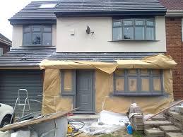 pvcu window re spray re colour on site