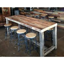 diy counter height table how to make the most of a bar height table inside counter