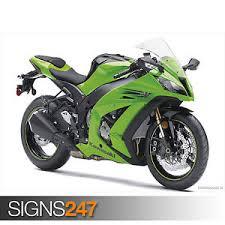 kawasaki ninja zx10r 1537 motorbike poster poster print art a0