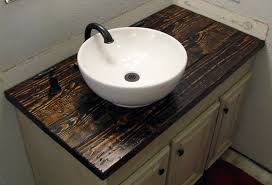 interesting countertops bathroom vanityand i love this wooden countertop and do it yourself diy wood countertops