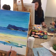 oil painting classes begin and develop your skills