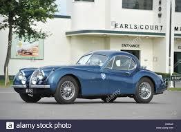 1954 Jaguar XK 120 coupe Ecurrie Ecosse, photogrphed at Good wood ...