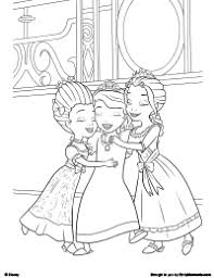 Small Picture Free Printable Sofia the First The Magic of Kindness Coloring