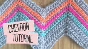 Chevron Crochet Blanket Pattern Impressive CROCHET Chevron Tutorial Bella Coco YouTube