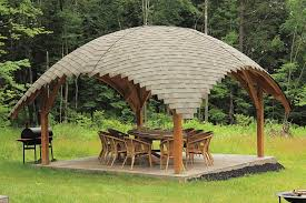 gazebo pictures in backyard. Perfect Gazebo Create Your Own By Commissioning A Tiki Hut Style Gazebo For Backyard  Space Mimic The Thatched Roof With Textured Layers Of Wood  In Gazebo Pictures Backyard T