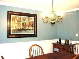 chair rail paint ideas molding dining room inspirational